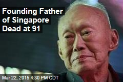 Founding Father of Singapore Dead at 91