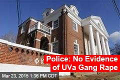 Police: No Evidence of UVa Gang Rape