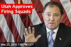 Utah Approves Firing Squads