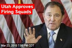 Utah Approves Firing Squads