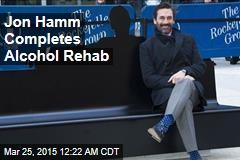 Jon Hamm Completes Alcohol Rehab