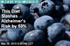 This Diet Slashes Alzheimer's Risk by 53%