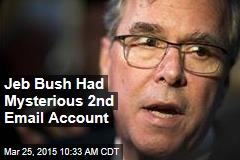 Jeb Bush Had Mysterious 2nd Email Account