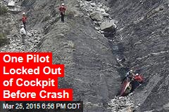 One Pilot Locked Out of Cockpit Before Crash