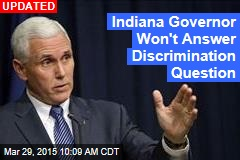 Governor Says Indiana May 'Clarify' New Law