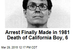 Arrest Finally Made in 1981 Death of California Boy, 6