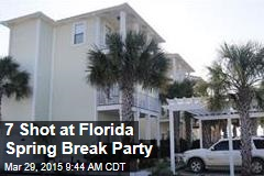 7 Shot at Florida Spring Break Party