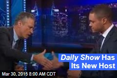 Daily Show Has Its New Host