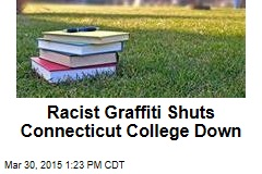 Racist Graffiti Shuts Connecticut College Down