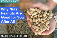 Nuts: Not Only Good, They Make You Live Longer