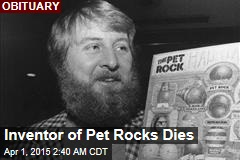 Inventor of Pet Rocks Dies