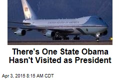 There's One State Obama Hasn't Visited as President