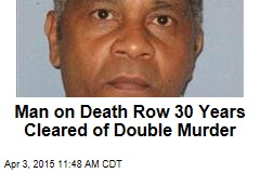 Man on Death Row 30 Years Cleared of Double Murder