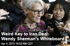 Weird Key to Iran Deal: Wendy Sherman's Whiteboard