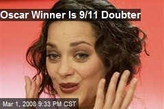 Oscar Winner Is 9/11 Doubter