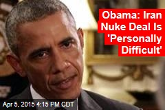 Obama Makes Case for Iran Nuke Deal