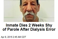 Inmate Dies After Dialysis No-Show