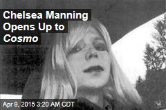 Manning Grants First Interview to Cosmopolitan