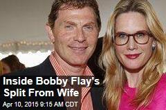 Inside Bobby Flay's Split From Wife