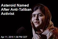 Malala Honored Near Jupiter, Mars