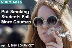 Studying Math? Don't Smoke Marijuana