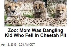 Zoo: Mom Was Dangling Kid Who Fell in Cheetah Pit