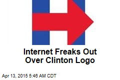 Internet Freaks Out Over Clinton Logo