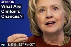 What Are Clinton's Chances?
