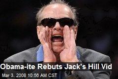 Obama-ite Rebuts Jack's Hill Vid