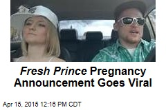 Fresh Prince Pregnancy Announcement Goes Viral
