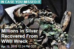 Deepest-Ever Salvage Gets WWII Wreck's Silver
