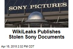 WikiLeaks Publishes Stolen Sony Documents