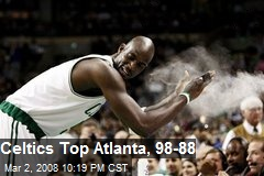 Celtics Top Atlanta, 98-88
