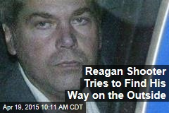 Reagan Shooter Tries to Find His Way on the Outside