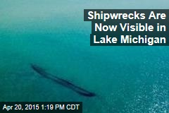 Winter's End Reveals Shipwrecks in Lake Michigan