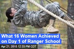 A First: Women Begin Army Ranger School