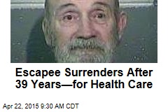 Inmate Surrenders After 39 Years —for Prison Health Care