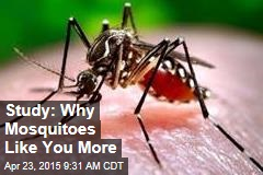 Study: Why Mosquitoes Like You More