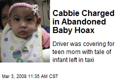 Cabbie Charged in Abandoned Baby Hoax
