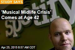 'Musical Midlife Crisis' Comes at Age 42