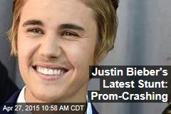 Justin Bieber's Latest Stunt: Prom-Crashing