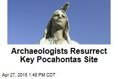 Church Where Pocahontas Married Rises Again
