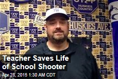Teacher Saves Life of School Shooter