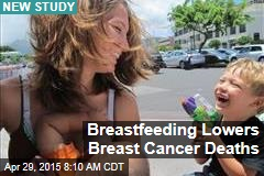 Breastfeeding Lowers Breast Cancer Deaths