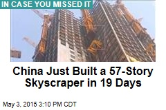 China Just Built a 57-Story Skyscraper in 19 Days