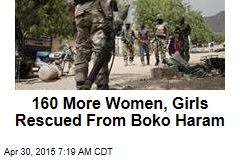 160 More Women, Girls Rescued From Boko Haram
