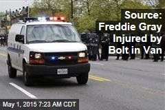 Source: Freddie Gray Injured by Bolt in Van