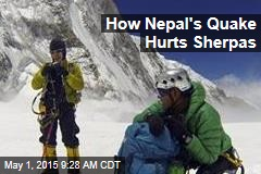 How Nepal's Quake Hurts Sherpas