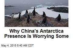 China's New Frontier: Antarctica?