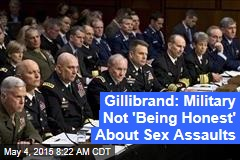 Gillibrand: Military Not 'Being Honest' About Sex Assaults
